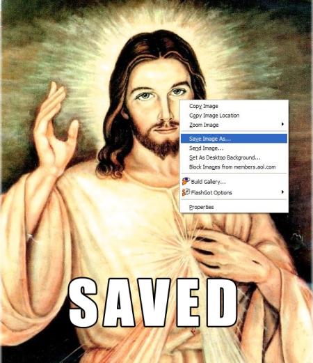 Jesus, salvo